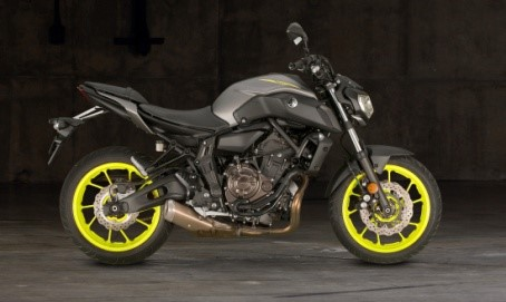 Yamaha MT07 Night Flouro