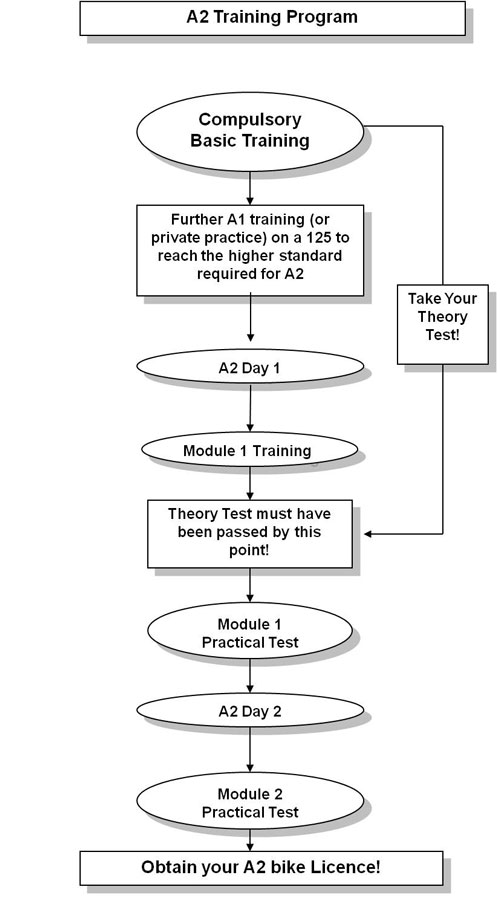 A1 training flowchart